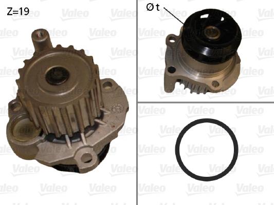 Pompe a eau VALEO 506874 (X1)