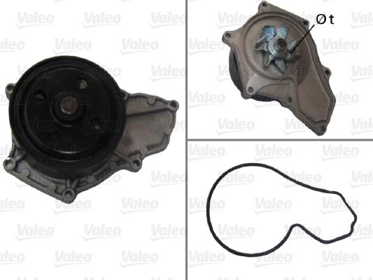 Pompe a eau VALEO 506878 (X1)