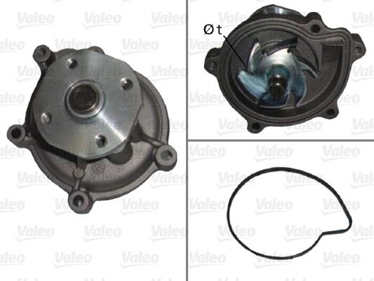 Pompe a eau VALEO 506899 (X1)