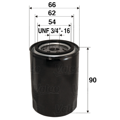 Filtre a huile VALEO 586049 (X1)