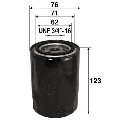Filtre a huile VALEO 586070 (X1)