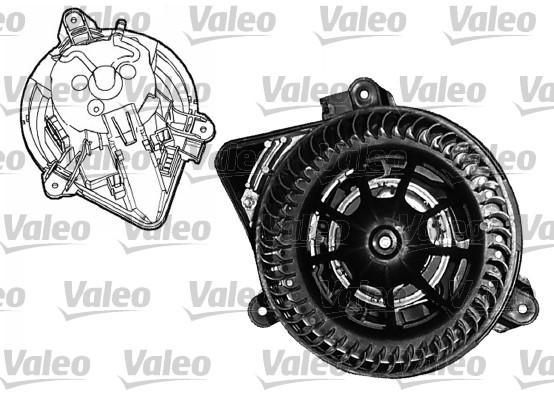 Chauffage et climatisation VALEO 698045 (X1)