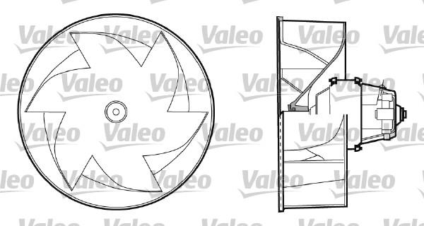 Chauffage et climatisation VALEO 698433 (X1)