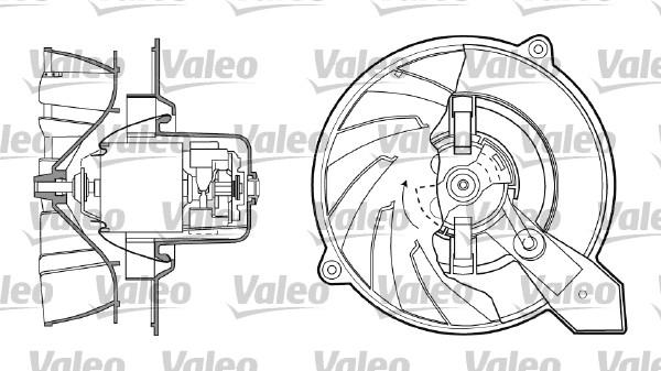 Chauffage et climatisation VALEO 698435 (X1)