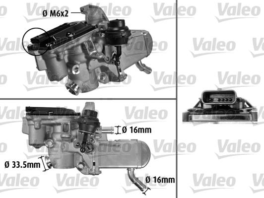 Vanne EGR VALEO 700433 (X1)