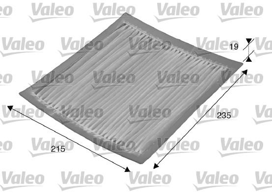 Filtre d'habitacle VALEO 715542 (X1)