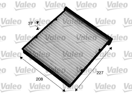 Filtre d'habitacle VALEO 715543 (X1)