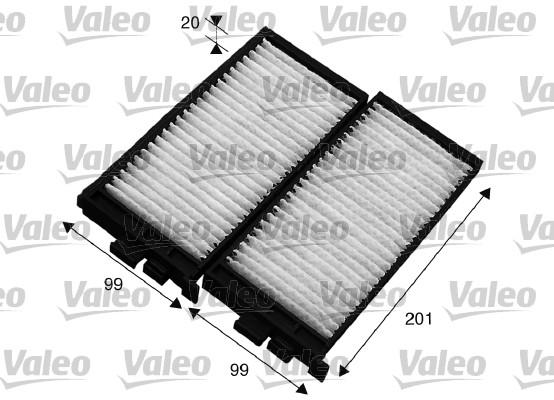 Filtre d'habitacle VALEO 715566 (X1)