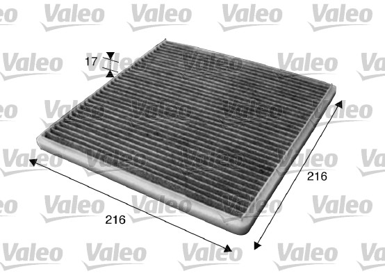 Filtre d'habitacle VALEO 715619 (X1)