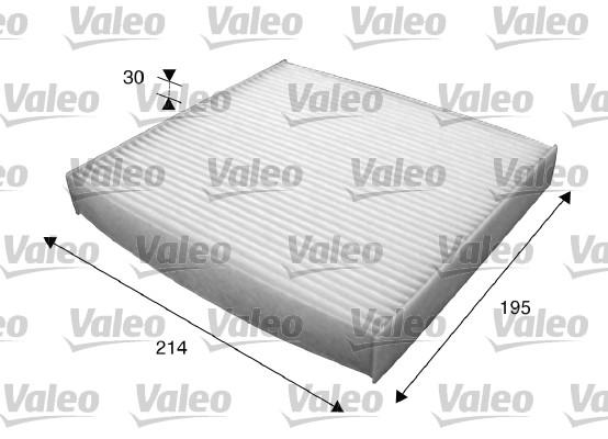 Filtre d'habitacle VALEO 715620 (X1)