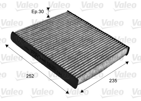 Filtre d'habitacle VALEO 715720 (X1)