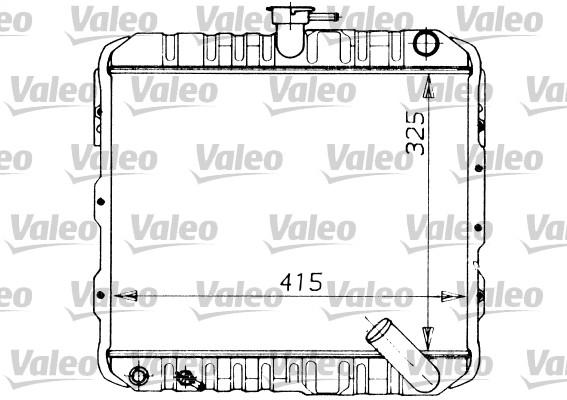 Radiateur de refroidissement VALEO 730446 (X1)