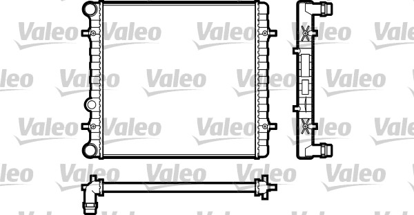 Radiateur de refroidissement VALEO 731606 (X1)