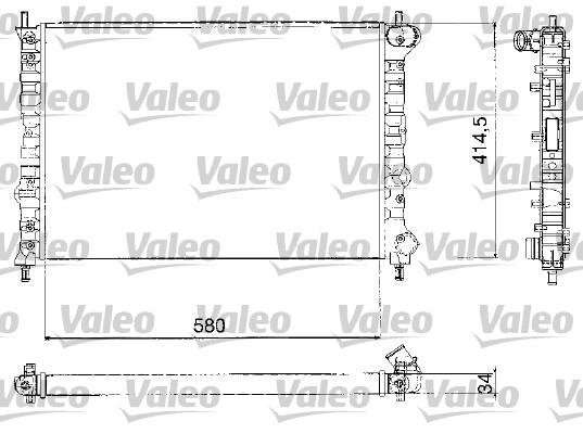 Radiateur de refroidissement VALEO 732580 (X1)