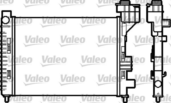 Radiateur de refroidissement VALEO 732588 (X1)