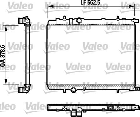 Refroidisseur d/'eau pour 1330e0 96370433