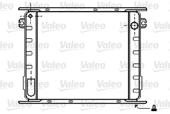 Radiateur de refroidissement VALEO 733405 (X1)