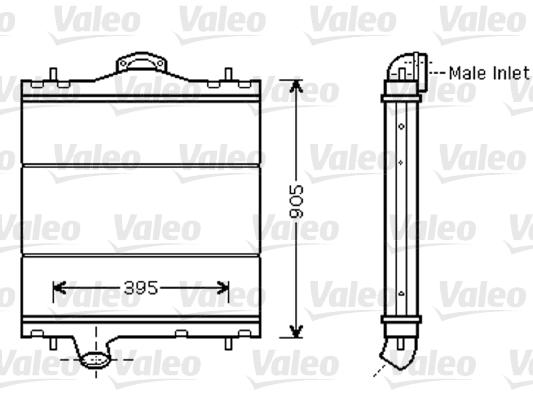 Radiateur de refroidissement VALEO 733448 (X1)