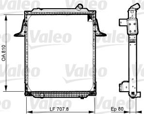 Radiateur de refroidissement VALEO 733535 (X1)