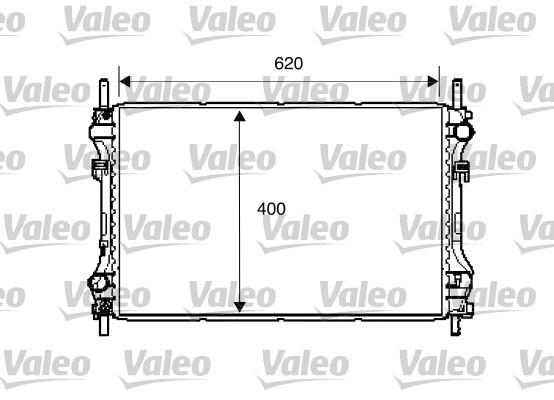 Radiateur de refroidissement VALEO 734293 (X1)