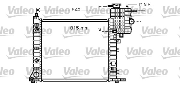 Radiateur de refroidissement VALEO 734668 (X1)