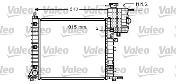 Radiateur de refroidissement VALEO 734669 (X1)