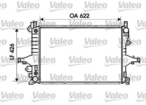 Radiateur de refroidissement VALEO 734720 (X1)