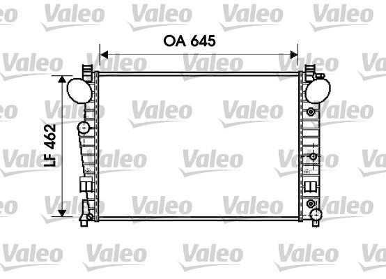Radiateur de refroidissement VALEO 734801 (X1)