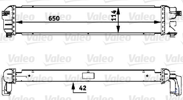 Radiateur de refroidissement VALEO 735479 (X1)