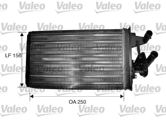 Radiateur de chauffage VALEO 812156 (X1)