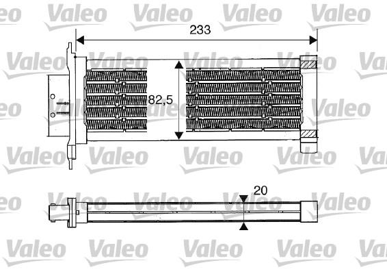 Chauffage VALEO 812235 (X1)