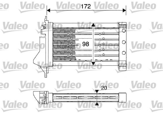 Chauffage VALEO 812249 (X1)