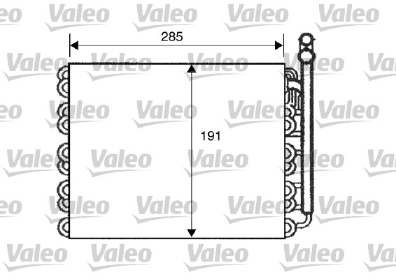 Evaporateur VALEO 817510 (X1)