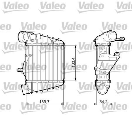 Intercooler radiateur de turbo VALEO 817556 (X1)
