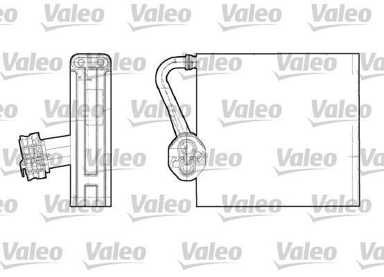 Evaporateur VALEO 817709 (X1)