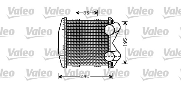 Intercooler radiateur de turbo VALEO 817931 (X1)
