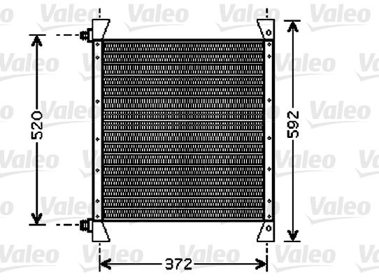 Condenseur / Radiateur de climatisation VALEO 818039 (X1)