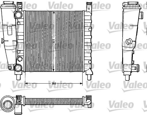Radiateur de refroidissement VALEO 883812 (X1)