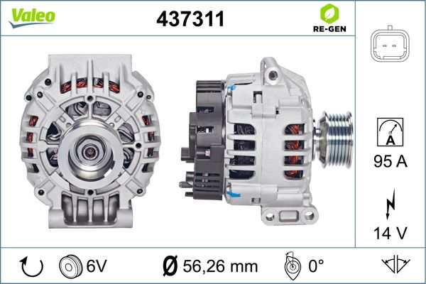 Alternateur VALEO 437311 (X1)