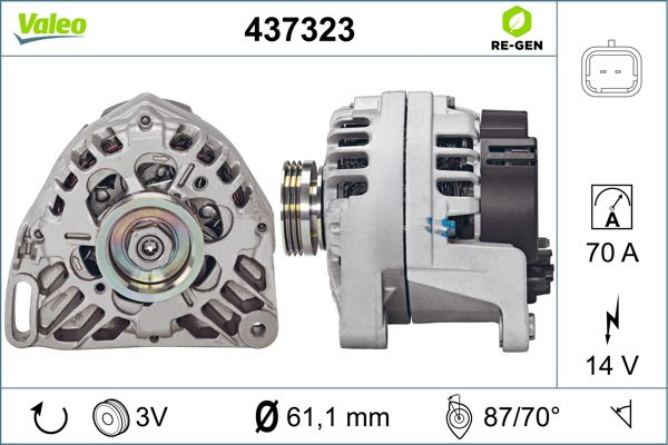 Alternateur VALEO 437323 (X1)