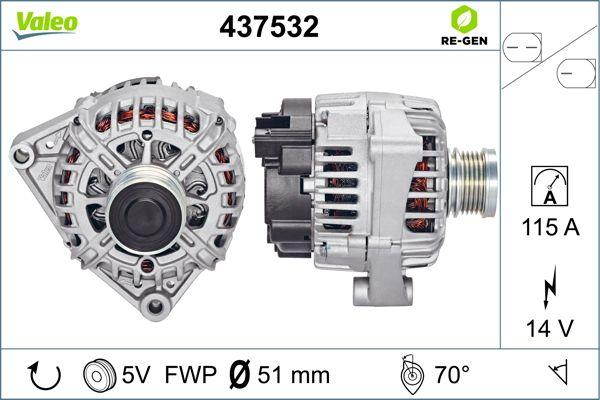 Alternateur VALEO 437532 (X1)