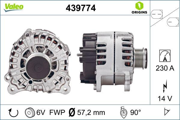Alternateur VALEO 439774 (X1)