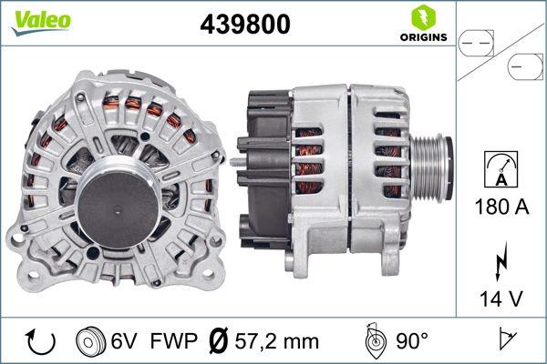 Alternateur VALEO 439800 (X1)