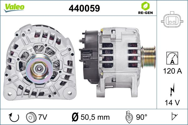Alternateur VALEO 440059 (X1)