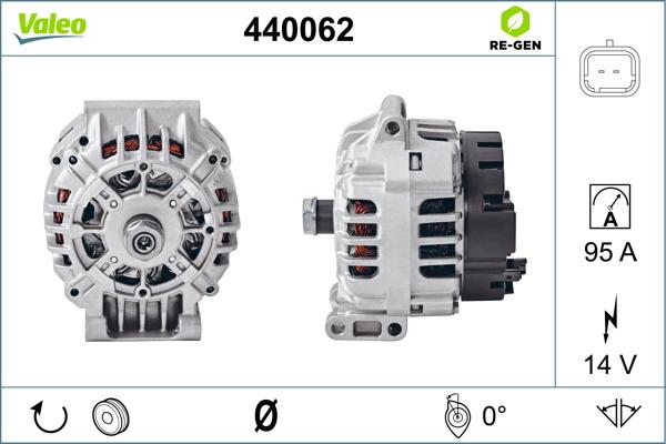 Alternateur VALEO 440062 (X1)