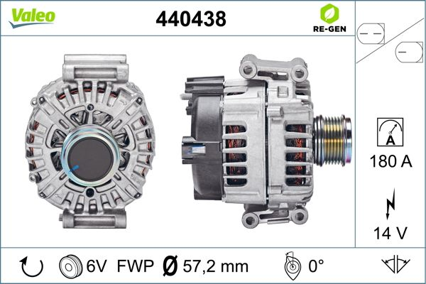 Alternateur VALEO 440438 (X1)