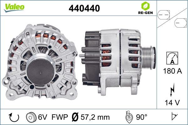 Alternateur VALEO 440440 (X1)