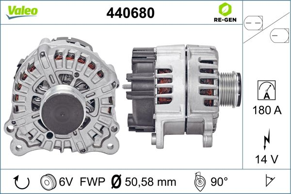Alternateur VALEO 440680 (X1)