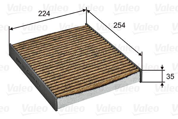 Filtre d'habitacle VALEO 701029 (X1)
