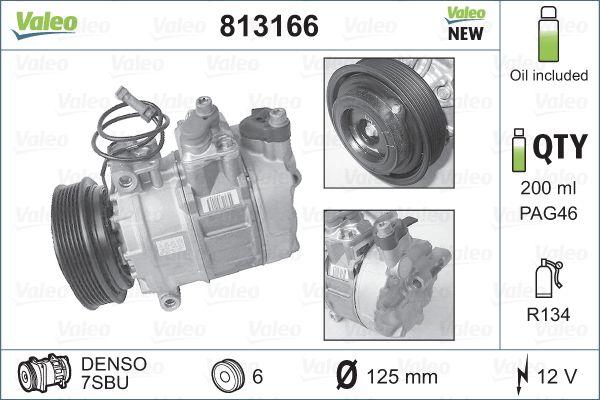 Compresseur VALEO 813166 (X1)